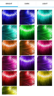 Pilihan Warna Rambut Terang Gelap Bercahaya