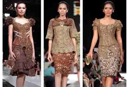 Trend Model Kebaya Modern Terbaru 2015