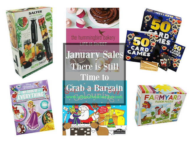 last minute January sales bargains with The Works - Christmas presents, toys, gifts and health aids