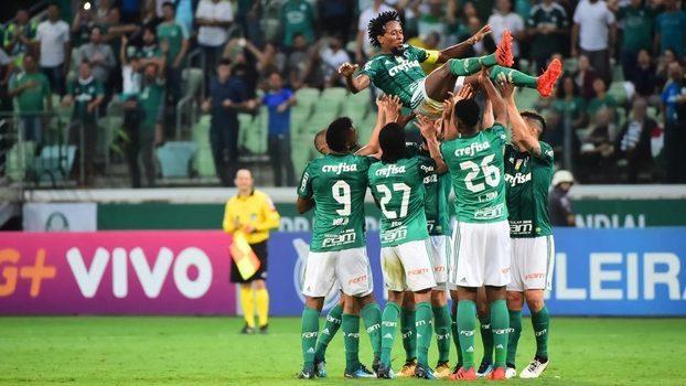 Palmeiras vence Botafogo por 2×0 e é vice-líder do Brasileiro