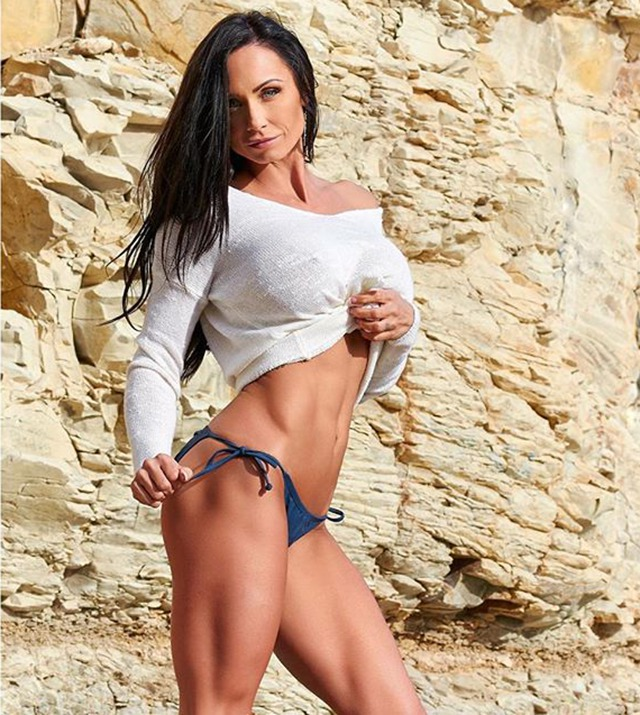 Fitness Model Rose Scarborough