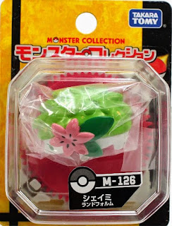 Shaymin figure land form Takara Tomy Monster Collection M series