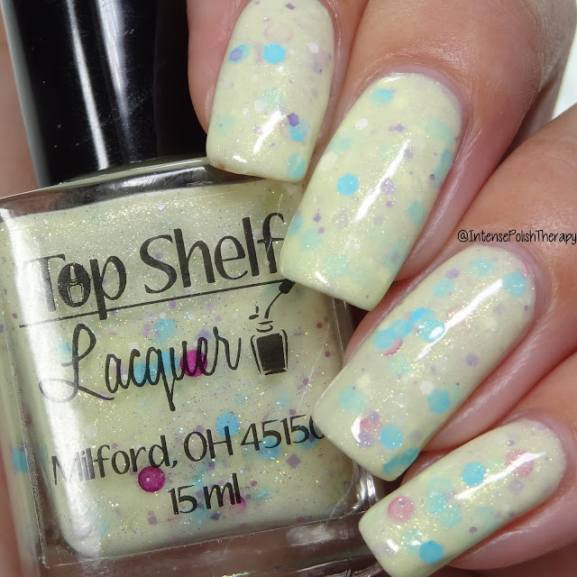 Top Shelf Lacquer Yellow Polka Dot Bikini