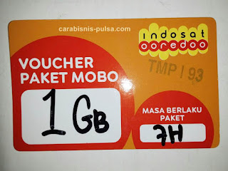 Voucher Kuota Internet Indosat 1GB