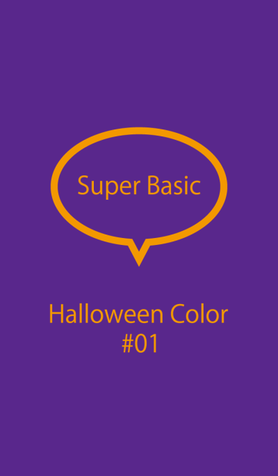 Super Basic Halloween Color #01
