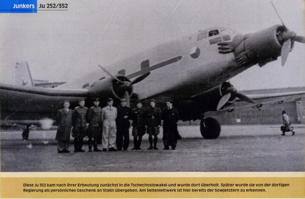 German Aircraft of WWII: Junkers Ju 252 and 352 Redux