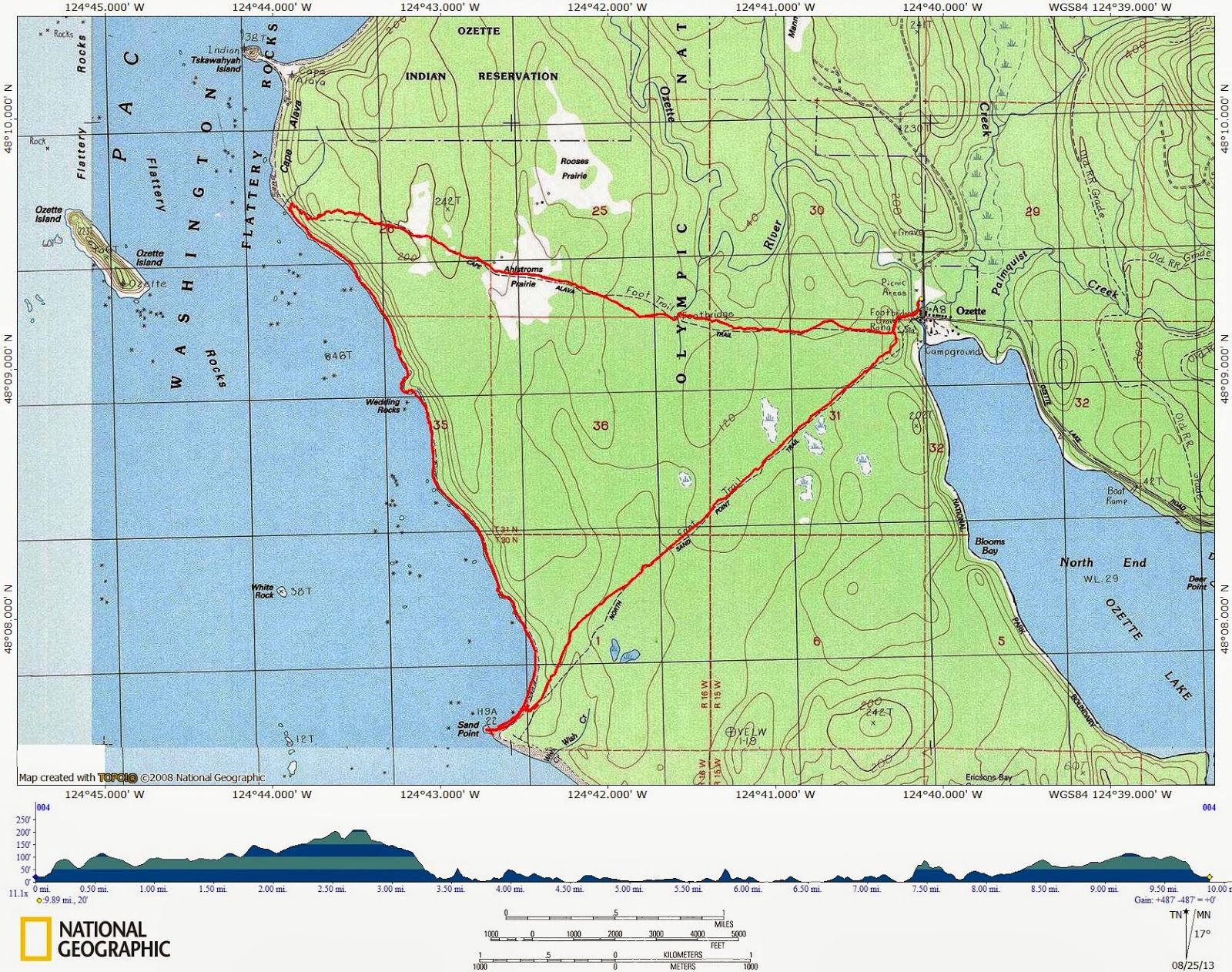 the adventures of team wil sun hike of the week ozette triangle