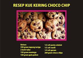 Resep Kue Kering Choco Chip Khas Lebaran Dan Cara Membuatnya