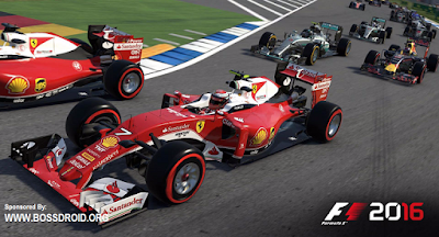 Download F1 2016 Mod v1.0.1 APK + Data Android Versi Terbaru (Fix Bugs)