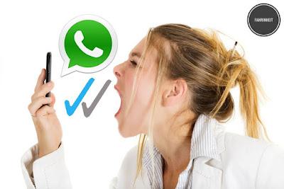 Cara Mengatur Agar Centang Biru (Read Report) WhatsApp Hanya Muncul Setelah Pesan Dibalas