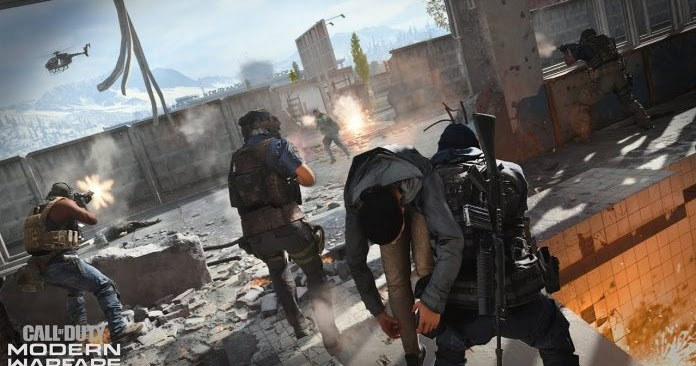 Modern Warfare Gets Updated With Call Of Duty 4 Maps