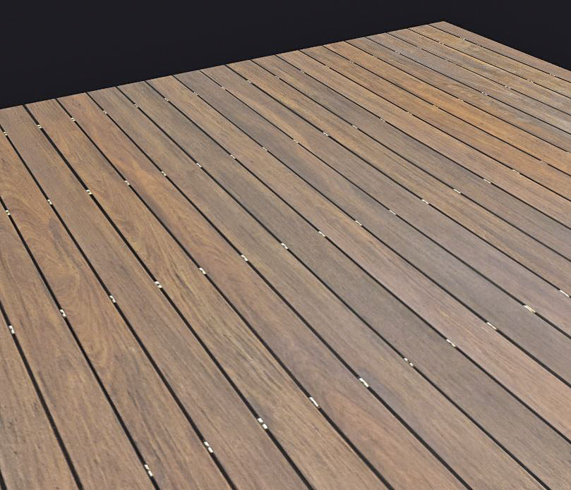 Tileable Wooden Deck Boards Texture Maps Texturise