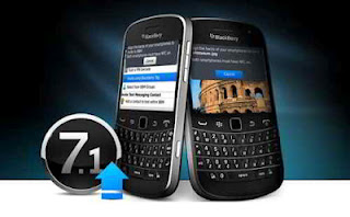 Cara Upgrade BlackBerry OS 7.1