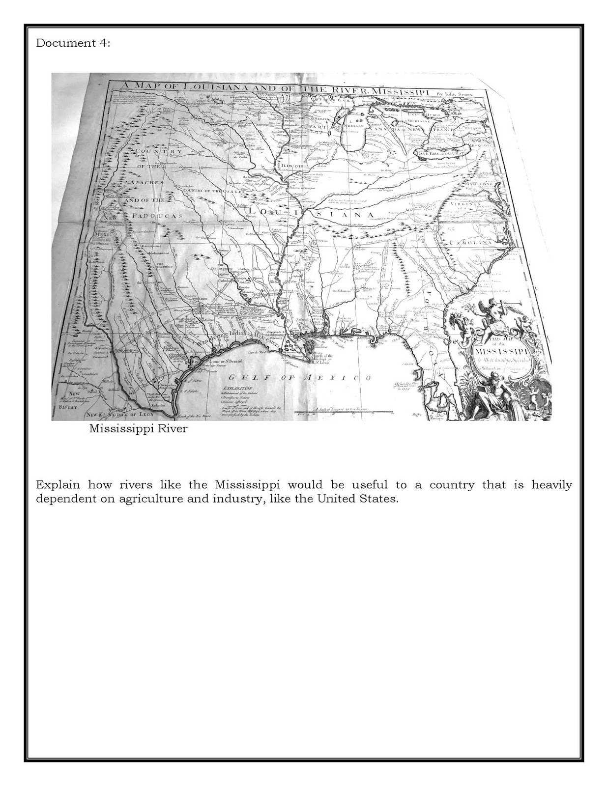 mississippi map given to william law