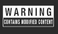 """Warning"", ""Contains Modified Content"""