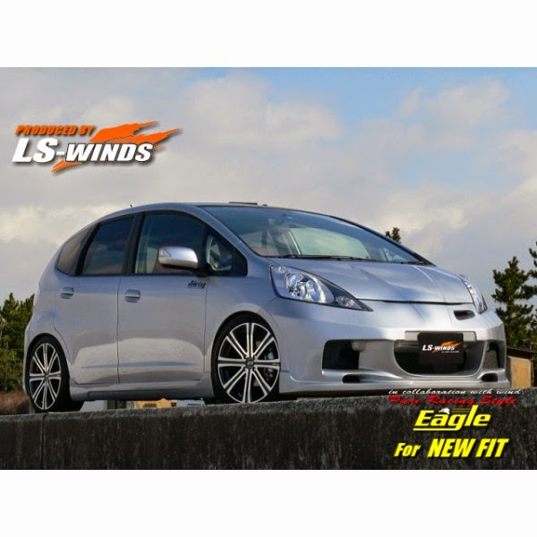 Full Bumper Honda Jazz S-RS 2008-2011 Last Station