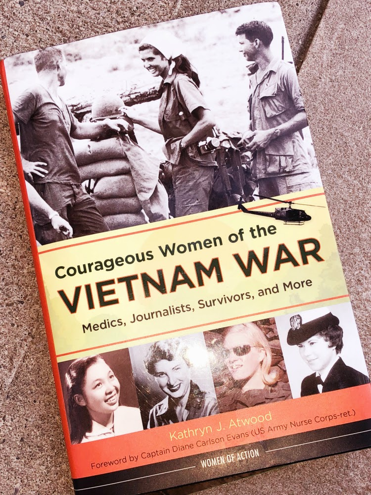 A Vintage Nerd Vietnam War Women in Action History Books 1960s War Book Blog Book Review Vintage Book Kathryn Atwood Chicago Review Press