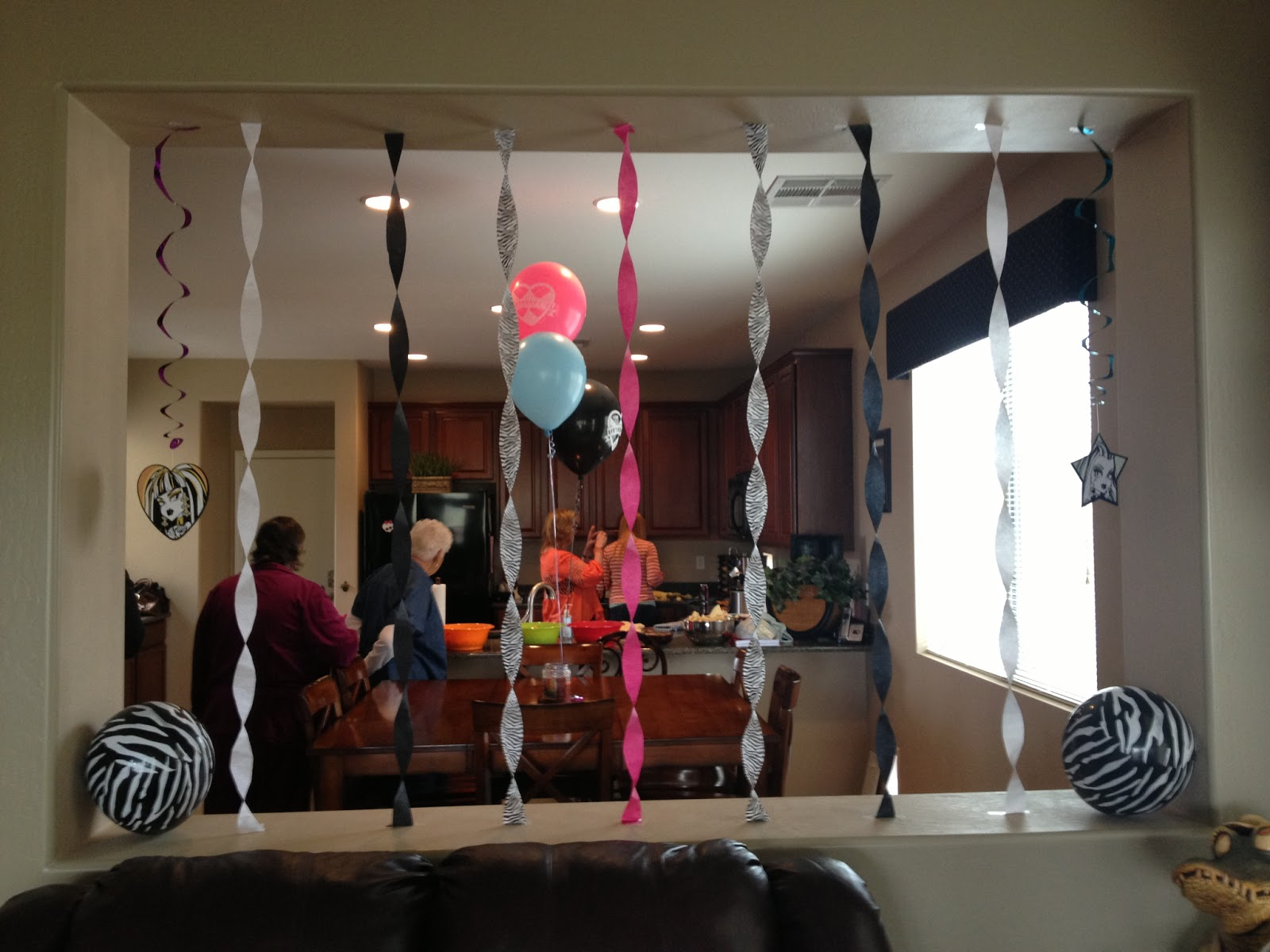 & The Busy Broad: Monster High Party Decorations