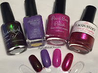 My Nail Polish Obsession 4th Blogiversary Custom Polishes