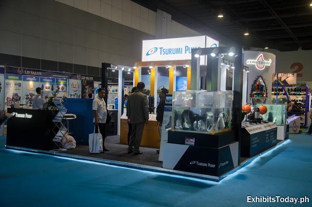 Tsurumi Pump Exhibition Booth