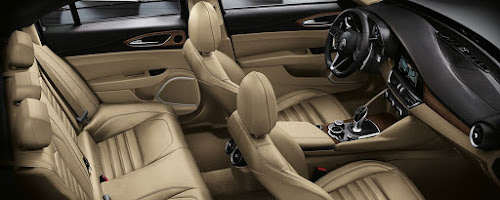 Alfa Romeo Giulia Seats