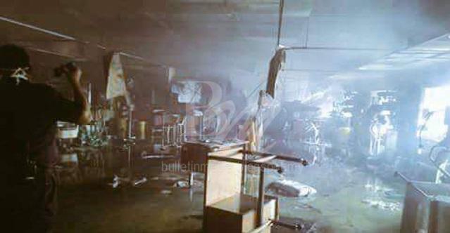 Sayu.. Sangat Menyedihkan.. Beginilah Keadaan Di Hospital Sultanah Aminah Selepas Api Dipadamkan.. Sangat Menyedihkan..