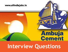 Ambuja Cements Limited Interview Questions