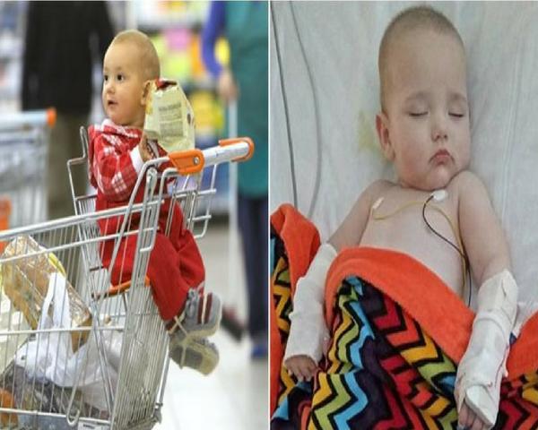 Akibat Orangtua Lalai, Balita ini Terjangkit Virus Berbahaya Usai Duduk di Troli Belanja