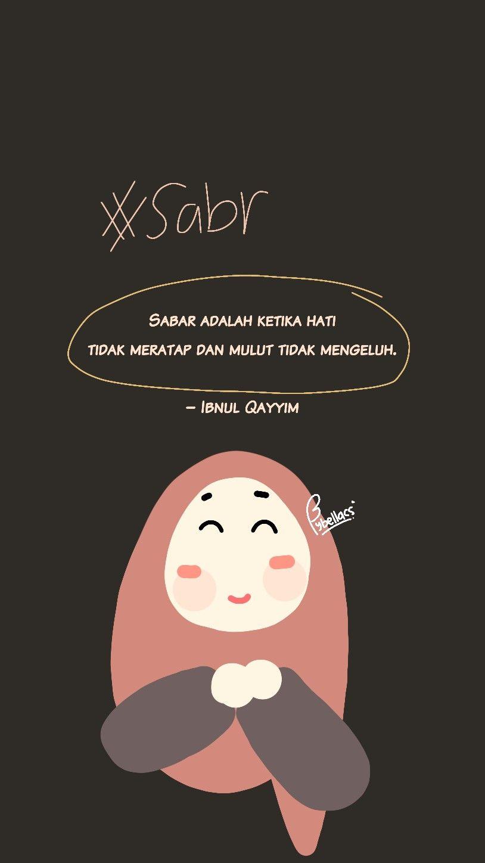 gambar kutipan islami tentang sabar