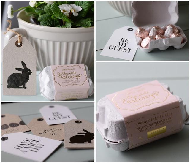 Süßes zu Ostern und Geschenkanhänger
