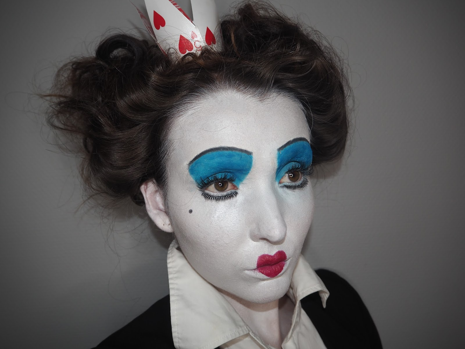 halloween week: queen of hearts | makeuphairbyseline