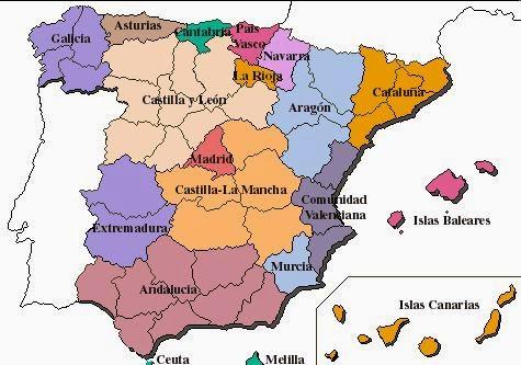 Bloque 4º Vivir En Sociedad Estructura Territorial Del