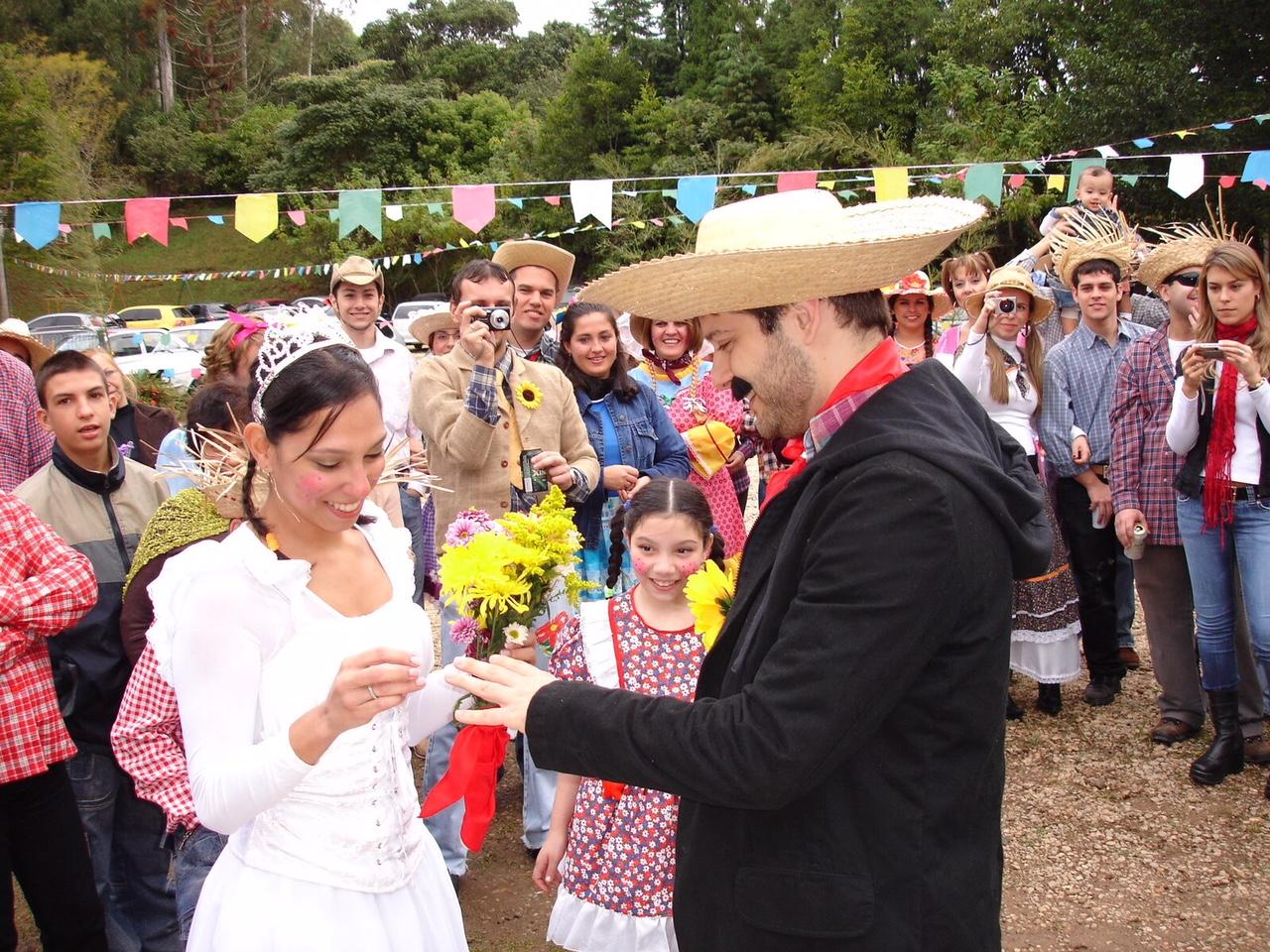 casamento com tema de festa junina