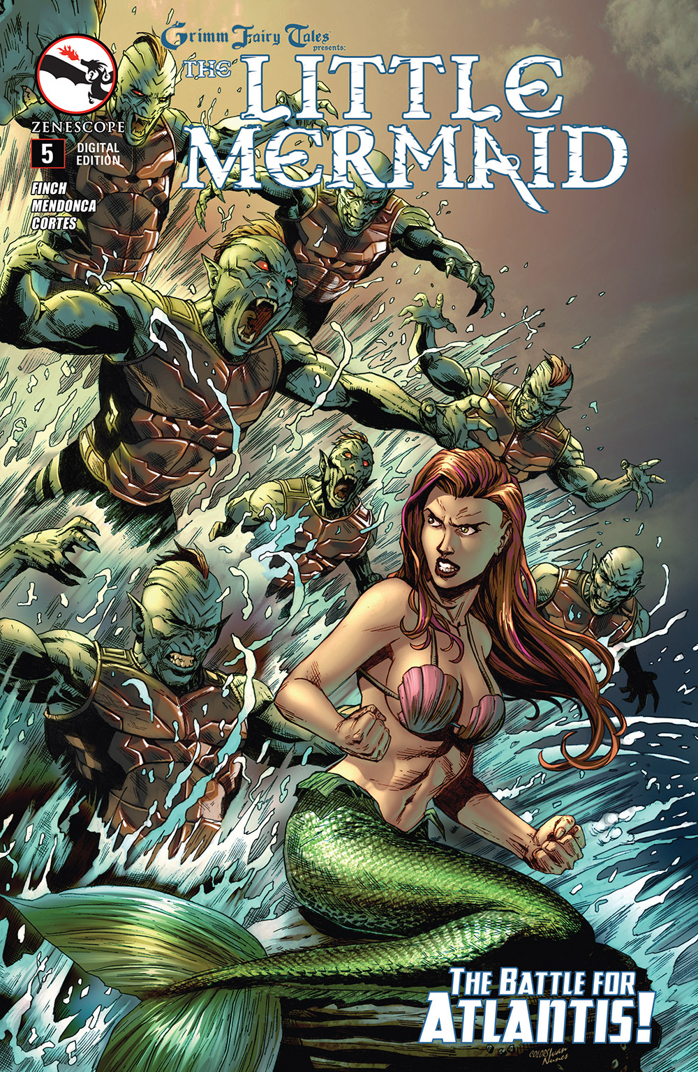 Grimm Fairy Tales Presents The Little Mermaid 005 (2015