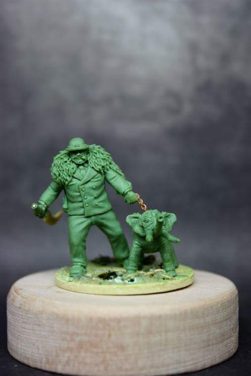 Purgatory Miniatures: Hannibal with Pet Nelly
