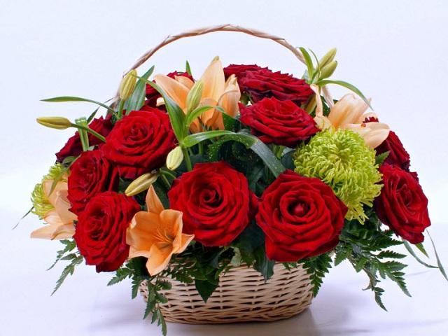 Bó hoa hồng đỏ đẹp nhất thế giới 9