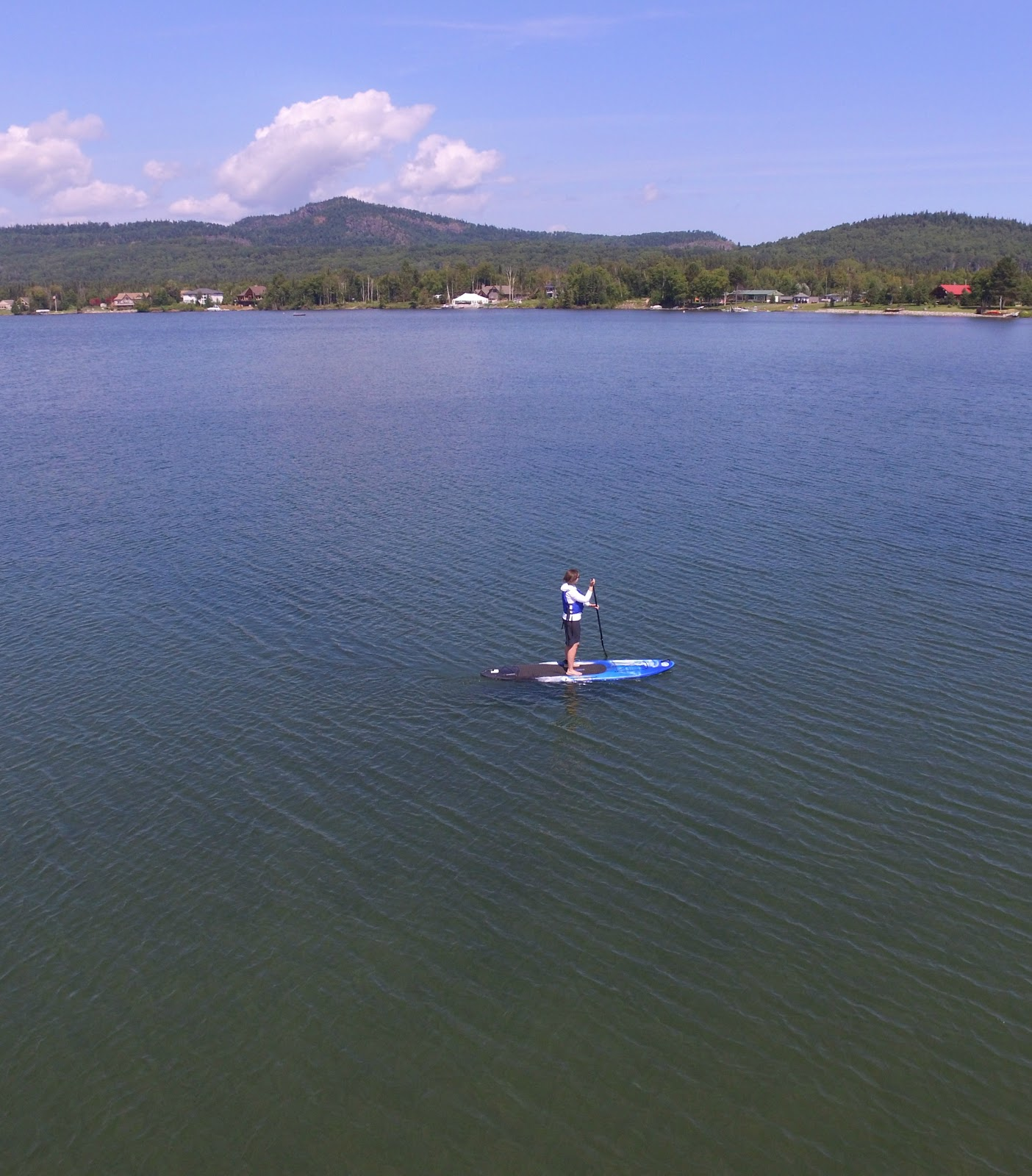 Aerial Photo Stand Up Paddle Board