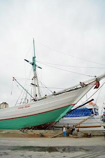 kapal di pelabuhan sunda kelapa