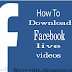 How do I download my Facebook Live video