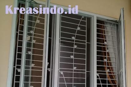 Teralis Besi pemasangan di Rumah Bpk Ravael di Tanjung Duren Jakarta Barat