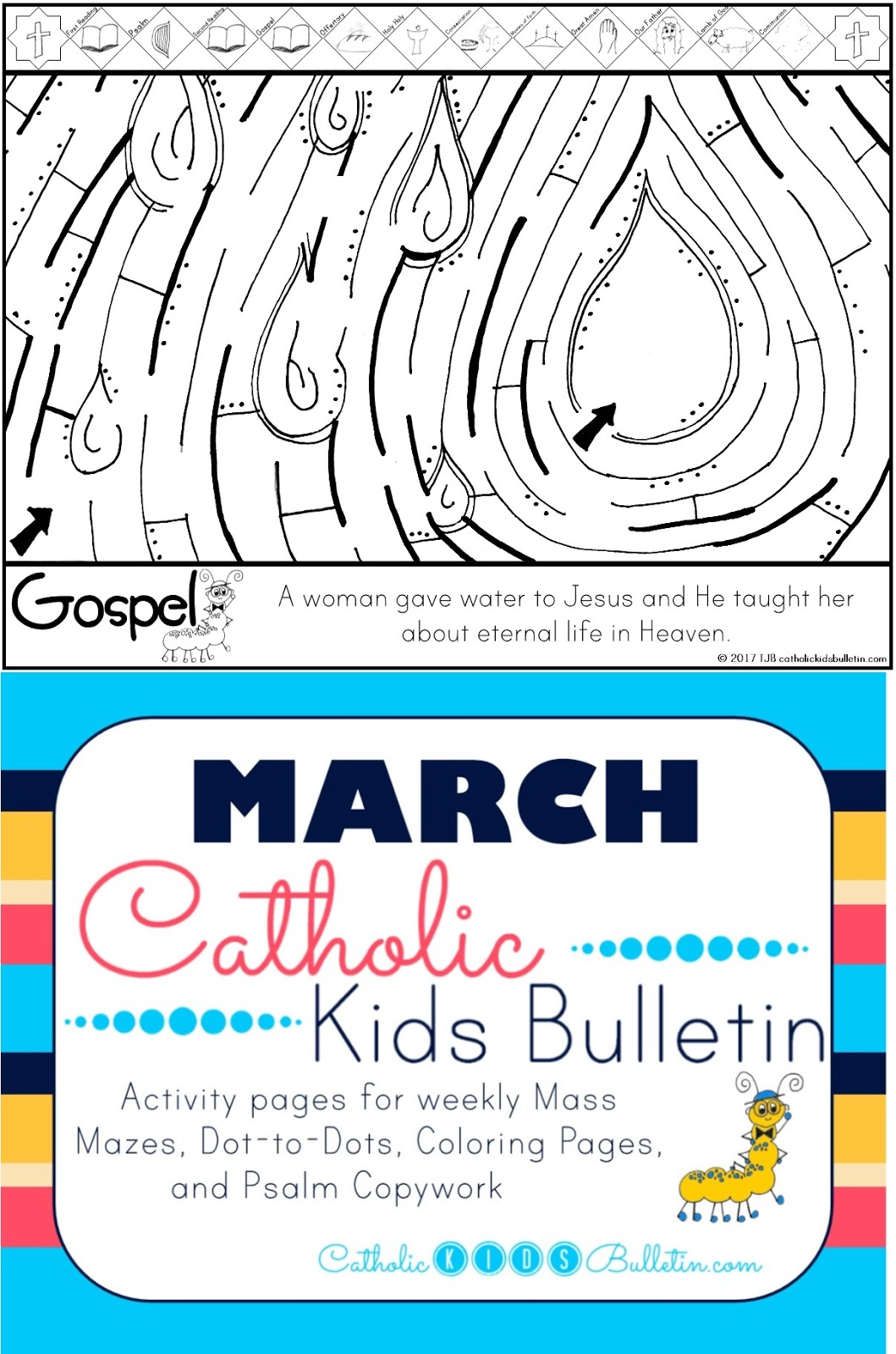 Catholic Kids March 2017 Catholic Kids Bulletin