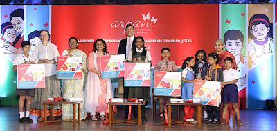 Arpan Supporters & Pooja Taparia launch the Personal Safety Education Training Kit