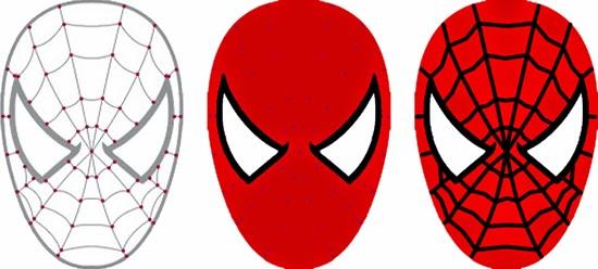 Coloriage Tete Spiderman A Imprimer Coloriage En Ligne