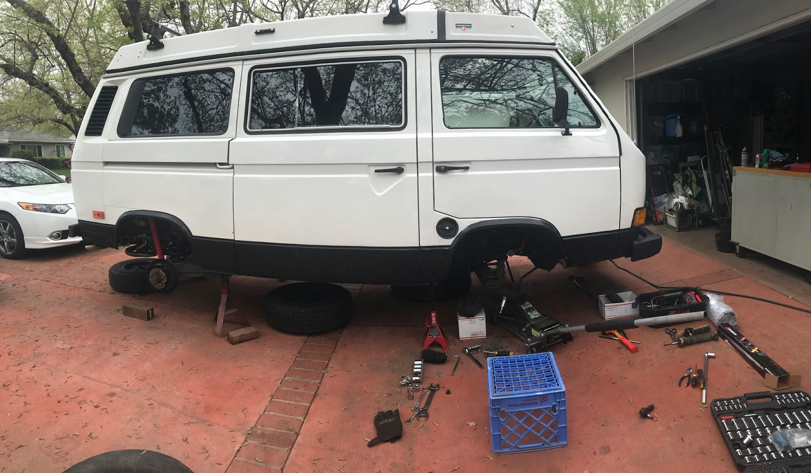 Vanagon Geek: Front End Rebuild