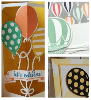 Balloon Adventures zena kennedy independent stampin up demonstrator