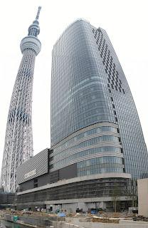 Tokyo Sky Tree construction