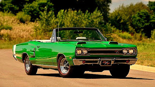 1969 Dodge Hemi Coronet RT Convertible Front Right
