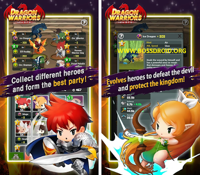 Download Dragon Warriors Idle RPG Mod v1.2.5 APK
