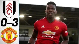 Fulham vs Manchester United 0 - 3 Football Highlights and Goals 2019