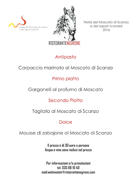 menu festa del moscato